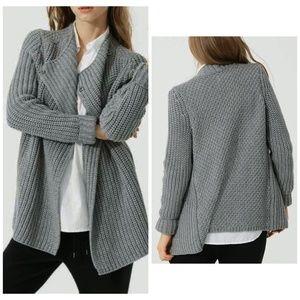 LOU & GREY Moto Sweater Jacket